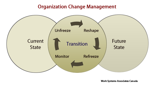 organization change management - graphic